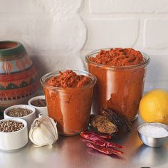 It's the yummiest, super versatile and so easy to make. Side Recipes, Chile, Sauces, Cravings, Dips, Spicy, Favorite Recipes, Homemade, Tableware