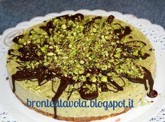 Bronte a tavola: Torta di gelato al pistacchio di Bronte