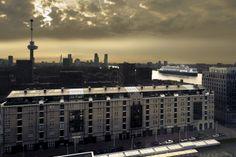 St. Jobsveem Rotterdam. Art by digital artist Hans Hunefeld.