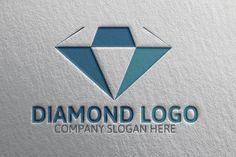 Diamond Logo by josuf on Creative Market