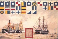 Evolution of Signal Flags