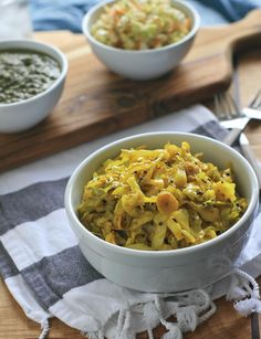 Spicy Yellow Indian Cabbage (Girl Cooks World)