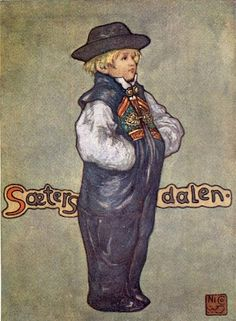 Nico Jungman (1872–1935) - Norway, 1905 A Boy of Saetersdalen    (+++)