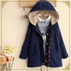 Buy 'Fairyland – Embroidered Hood Coat' with Free International Shipping at YesStyle.com. Browse and shop for thousands of Asian fashion items from China and more!