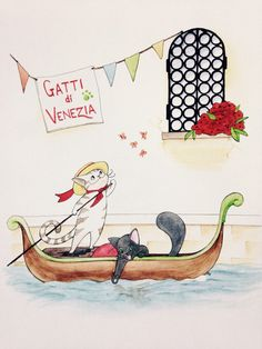 Gatti di Venezia by ByMarleyMccue on Etsy