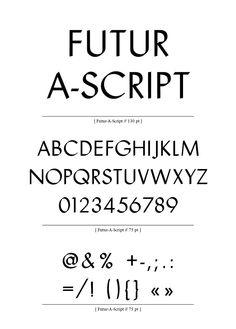 Eps51 graphic design studio: Futur-A-Script