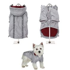 NEW - Silver Grey Rainstorm Rain Coat -Rain Jacket For All Sized Dogs - Dog Jackets - Pet Supplies - Dog Raincoat - Dog Waterproof Coat Dog Jacket, Rain Jacket, Dog Raincoat, Waterproof Coat, Body Warmer, Pet Accessories, Dog Bed, Pet Supplies, Snug