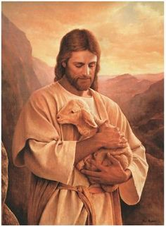 Jesus Christ will come again, so is written in the Holy Bible. Christians believe that Jesus is their Savior. Jesus' words means Savior. Images Du Christ, Pictures Of Jesus Christ, Jesus Pics, Lord Is My Shepherd, The Good Shepherd, Jesus Shepherd, Image Jesus, Jesus Christus, My Jesus