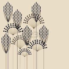 Super Ideas for flowers vintage pattern art deco Fleurs Art Nouveau, Motifs Art Nouveau, Design Art Nouveau, Motif Art Deco, Art Nouveau Pattern, Bijoux Art Nouveau, Motif Vintage, Vintage Patterns, Vintage Art