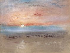 William Turner-Sunset