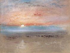 William Turner-Sunset