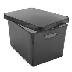 Säilytyslaatikko TONY L29xP39xK23 musta