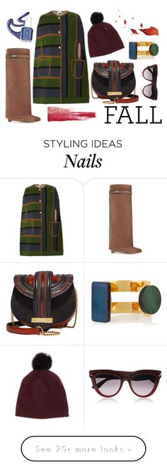 """Knee Boots"" by erindream on Polyvore featuring Givenchy, Missoni, Salvatore Ferragamo, rag & bone, Valentino, Marni and Deborah Lippmann"