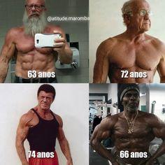 Age is just another number, relentless discipline & effort, intellectual intuitive intelligence & persistence gets positive results & enhances livelihood & longevity! Fitness Goals, Fitness Tips, Health Fitness, Mens Fitness, Yoga Fitness, Old Bodybuilder, Over 50 Fitness, Men Over 50, Bodybuilding Motivation