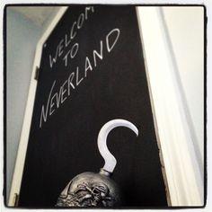 Welcome to Neverland. Peter Pan nursery