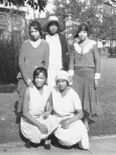 Friends of Sadie T. M. Alexander ( Founder of Delta Sigma Theta Sorority)  Taken at the University of Pennsylvania in 1921
