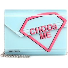 Jimmy Choo Candy Box Clutch (17.053.570 VND) ❤ liked on Polyvore featuring bags, handbags, clutches, blue, hardcase clutch, hard clutch, jimmy choo clutches, blue handbags and jimmy choo handbags