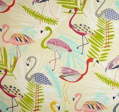 Tropical Shower Curtain Flamingo Shower by asmushomeinteriors