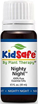 Amazon.com : Plant Therapy KidSafe Nighty Night Synergy Essential Oil Blend. Blend of: Lavender, Marjoram, Mandarin, Cedarwood Atlas, Patchouli, Clary Sage, Chamomile Roman and Blue Tansy. 10 ml (1/3 oz). : Beauty