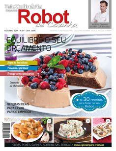 TeleCulinária Robot de Cozinha nº 80 Setembro 2014 Disponivel online www.magzter.com Visite-nos em www.teleculinaria.pt