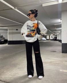 Fashion Mode, Tomboy Fashion, Look Fashion, Streetwear Fashion, Indie Outfits, Teen Fashion Outfits, Retro Outfits, Girl Outfits, Swaggy Outfits