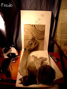 Amazing 3D Pencil Drawings by 17 Year Old Fredo | Bored Panda