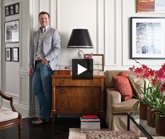 How do you create a luxe traditional look in a dated condo penthouse? Toronto interior designer Philip Mitchell accomplished just that. Tour his updated 1970s apartment, where he added a grand barrel