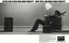 Maxell tape ad 1980s
