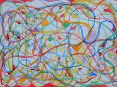 "Saatchi Art Artist Theodora Papoulidoy; Painting, ""Astron127"" #art"