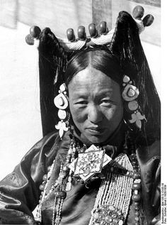 Woman from Tibet