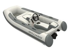The Williams Minijet 280 is small & compact to fit smaller yachts with the power of bigger jet ribs. Small Yachts, Jet, Highlights, Luminizer, Hair Highlights, Highlight