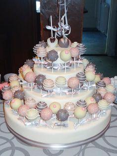 Wedding cakepops by www.TaartaMorgana.nl