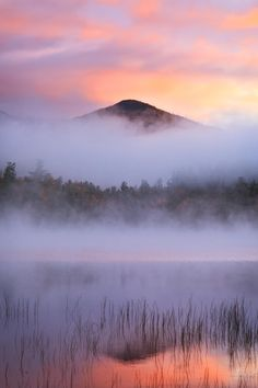 Connery Pond, Adirondack State Park, New York, United States.