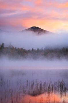 Connery Pond, Adirondack State Park, New York, United States.