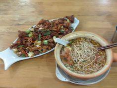 Sichuan food in Kunming, Yunnan, China