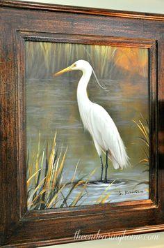 Bird Painting Acrylic, Acrylic Painting Lessons, Scratchboard Art, Organic Art, Tropical Art, Wildlife Art, Beach Art, Bird Art, Painting Inspiration