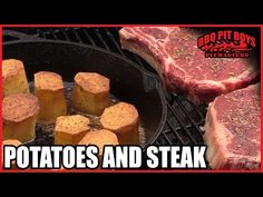 Potatoes And Steak By The BBQ Pit Boys | Cooking Recipe Video In Other Recipes Foods| My Recipe Picks | Delicious food, easy to cook recipes. Make breakfast, lunch and dinner easy!