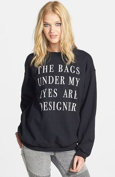 love it. got it. own it.  Madison & Berkeley Graphic Sweatshirt | Nordstrom