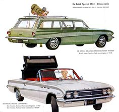 1962 Buick Special Deluxe Station Wagon and Special Deluxe Convertible