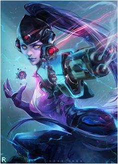 Widowmaker, Ross Tran on ArtStation at https://www.artstation.com/artwork/DlZbG