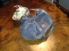 (side) Trussardi suede stunning bag