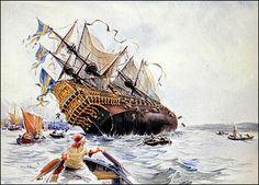 Memento Mori!: El Vasa, la belleza chapucera de un galeón venido del pasado