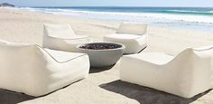 Restoration Hardware Ibiza Collection of outdoor furniture Rh Furniture, Restoration Hardware Outdoor Furniture, Garden Furniture, Outdoor Furniture Sets, Beach Furniture, Lounge Furniture, Outdoor Beds, Outdoor Gardens, Outdoor Chairs