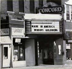 Concord Theater New Hampshire In 1993 Movie Concorde Old