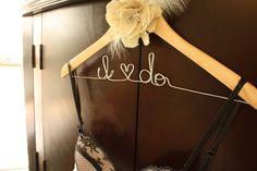 """""""I do"""" cute hanger"""