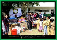 Relief India Trust | Every child has a right to attend school for basic education that will enhance their skills and knowledge to be able to work in better environments.  Read more at: http://www.localnews.biz/news_81353.asp