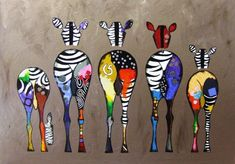 Modern Canvas Painting Zebras Pattern Home Decor Arte Zebra, Zebra Kunst, Zebra Art, Animal Art Prints, Animal Paintings, Canvas Art Prints, Art Paintings, Hand Painted Canvas, Canvas Frame