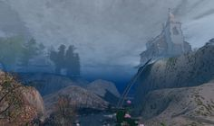 Visit this location at Binemist in Second Life Half Dome, Second Life, Surface, Mountains, Nature, Travel, Naturaleza, Viajes, Destinations