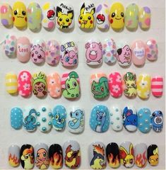 Pokemon Nails …