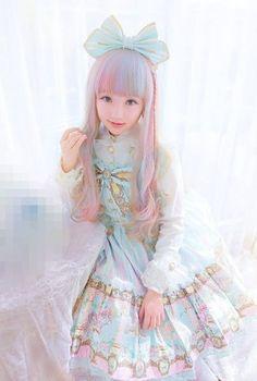 lovely lolita wig
